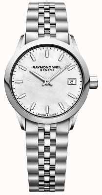Raymond Weil Женские | фрилансер | перламутровый циферблат | нержавеющая сталь 5626-ST-97021