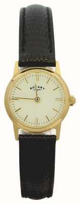 Rotary 9ct кожаный ремень кожаный ремень LS11476/03