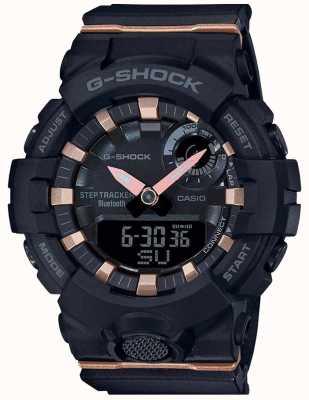 Casio | G-Shock G-отряд | черный резиновый ремешок | блютуз умный | GMA-B800-1AER