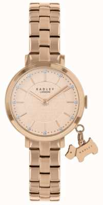 Radley Часы Selby Street с покрытием из розового золота RY4398