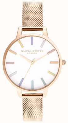 Olivia Burton | женская | радуга | браслет из розового золота | OB16RB24
