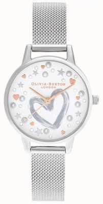 Olivia Burton Браслет из розового золота и серебра OB16LH12