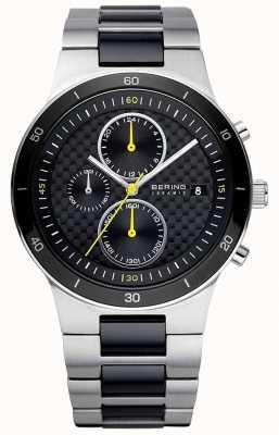 Bering | мужские | браслет из керамической стали | часы с хронографом | 33341-749