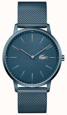 Lacoste Мужская луна | синий сетчатый браслет из пвд | синий циферблат 2011057