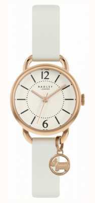 Radley | женский белый кожаный ремешок | циферблат с шампанским | RY2984