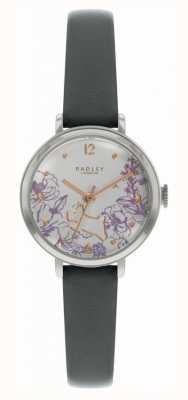 Radley   женский черный кожаный ремешок   циферблат с цветочным принтом   RY2979