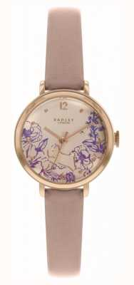 Radley   женский кожаный ремешок   циферблат с цветочным принтом   RY2980