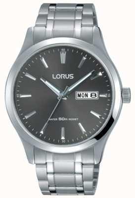 Lorus Мужской браслет из нержавеющей стали серый циферблат RXN35DX9