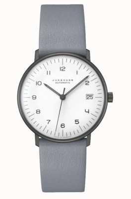 Junghans Макс Билл автоматическое сапфировое стекло | 38 мм черно-белый 027/4007.02