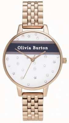 Olivia Burton Женская | Деми | университетский | розовое золото пвд OB16VS06