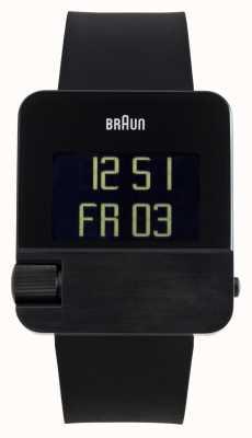 Braun Мужские   престиж   цифровой   черная резина BN0106BKBKG