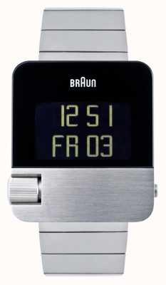 Braun Мужские | престиж | цифровой | браслет из нержавеющей стали BN0106SLBTG