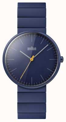Braun Мужские | классический | синий керамический браслет | синий циферблат BN0171NVNVG