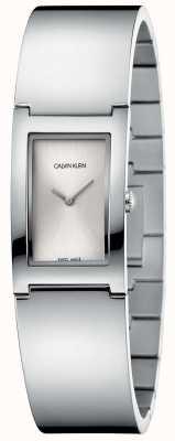 Calvin Klein | польский | браслет из нержавеющей стали | серебряный прямоугольник K9C2N116