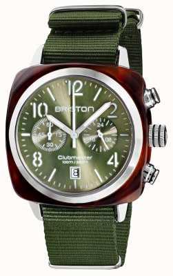 Briston Clubmaster classic | хронограф | 19140.SA.T.26.NOL