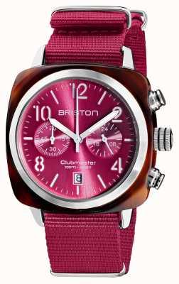 Briston Clubmaster classic | хронограф | 19140.SA.T.28.NBER