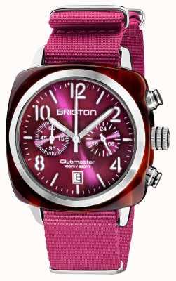 Briston Clubmaster classic | хронограф | 19140.SA.T.32.NC