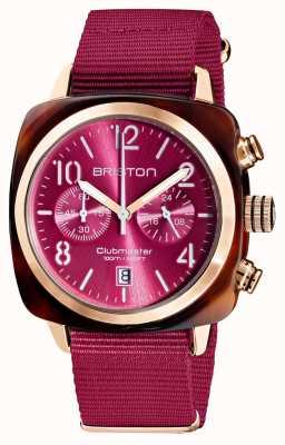Briston Clubmaster classic | хронограф | 19140.PRA.T.28.NBER