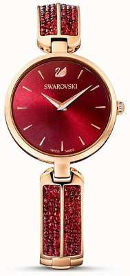 Swarovski Мечта рок красное / розовое золото | красное лицо | 5519312