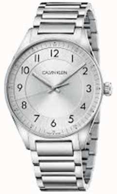 Calvin Klein | яркий | браслет из нержавеющей стали | серебряный циферблат | KBH21146