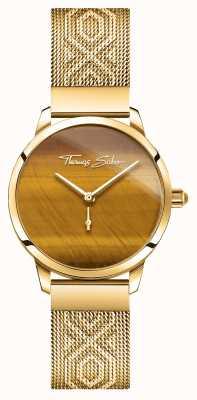Thomas Sabo | гламур и соул | женский садовый дух | тигровый глаз золото WA0364-264-205-33