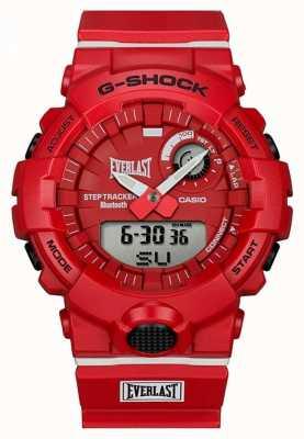 Casio G-шок | вечный | блютуз | красный GBA-800EL-4AER