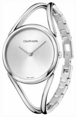 Calvin Klein | леди | браслет из нержавеющей стали | серебряный циферблат | KBA23126