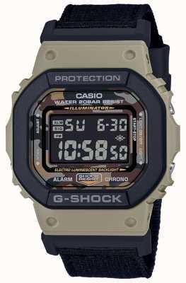 Casio G-шок | черный ремешок | цифровой | секундомер DW-5610SUS-5ER