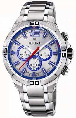 Festina Спортивные часы Chrono bike 2020 синие F20522/1
