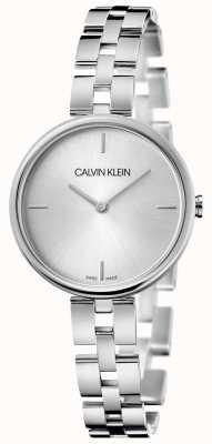 Calvin Klein Элегантность | браслет из нержавеющей стали | серебряный циферблат KBF23146