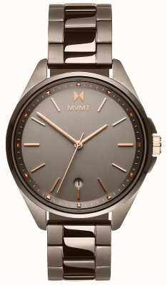 MVMT | женская коронада | браслет с ионным покрытием серого цвета | серый циферблат 28000003-D