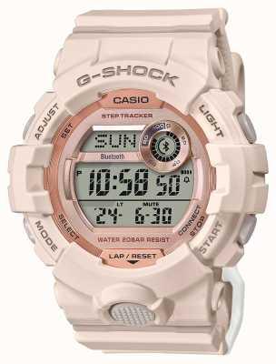 Casio G-шок | г-отряд | розовый резиновый ремешок | Bluetooth GMD-B800-4ER