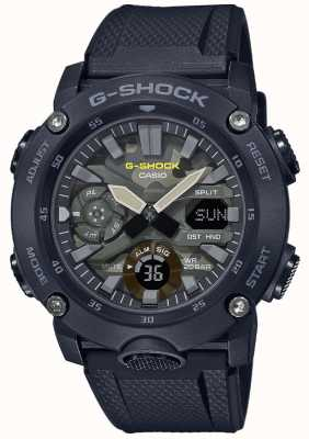 Casio G-шок | резиновый ремешок | камуфляж GA-2000SU-1AER