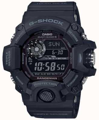 Casio G-Shock Rangeman | затемнение жесткого солнечного радиоуправления | GW-9400-1BER