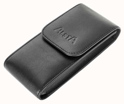 Alsta Итальянский черный кожаный чехол только для хранения ALSTA-POUCH
