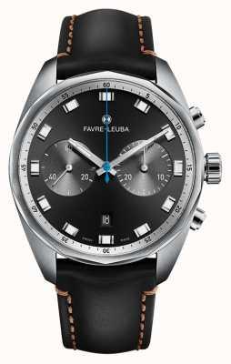 Favre Leuba Главный небесный главный хронограф | черный кожаный ремешок 00.10202.08.11.41