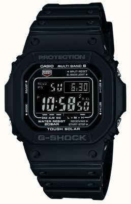 Casio Waveceptor жесткие солнечные радиоуправляемые часы GW-M5610-1BER