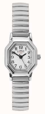 Limit Женский браслет из нержавеющей стали | белый / серебряный циферблат 60122.38
