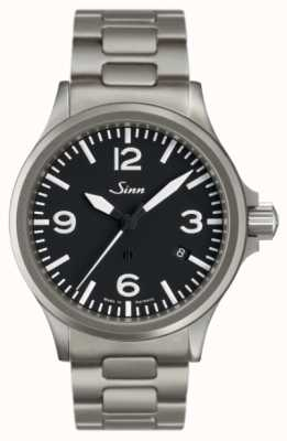 Sinn 856 пилотные часы с защитой от магнитного поля 856.011 BRACELET