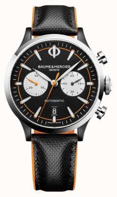 Baume & Mercier Capeland | мужские | автоматический | черная кожа | черный циферблат M0A10451