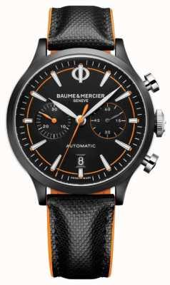 Baume & Mercier Capeland | мужские | автоматический | черная кожа | черный циферблат M0A10452