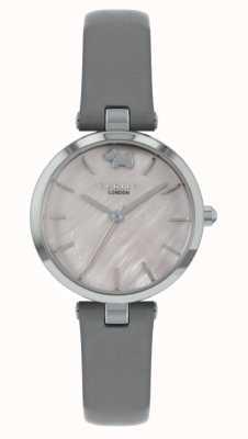 Radley Западный вид | серый кожаный ремешок | серебряный циферблат RY2969