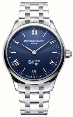 Frederique Constant Мужские | жизнеспособность | умные часы | синий циферблат | нержавеющая сталь FC-287N5B6B
