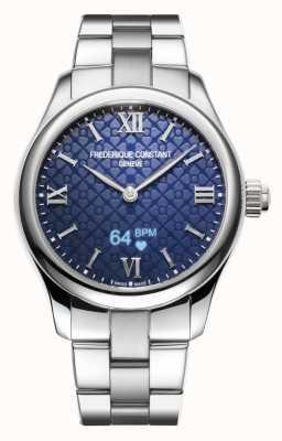 Frederique Constant Женские | жизнеспособность | умные часы | синий циферблат | нержавеющая сталь FC-286N3B6B