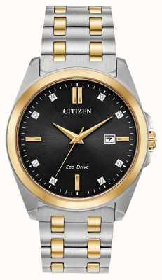 Citizen Corso eco-drive двухцветные часы BM7107-50E