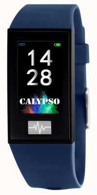 Calypso Унисекс | умный | синий силиконовый ремешок + бесплатный ремешок K8500/5