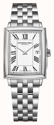 Raymond Weil Токката для женщин | браслет из нержавеющей стали | белый циферблат 5925-ST-00300