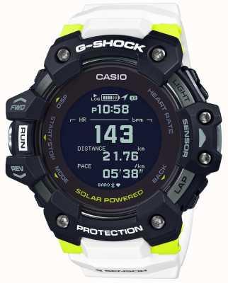 Casio G-шок | г-отряд | монитор сердечного ритма | блютуз | белый | GBD-H1000-1A7ER