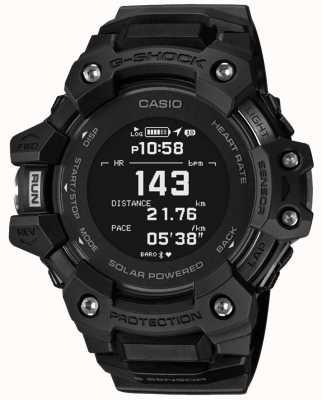 Casio | g-шок | г-отряд | монитор сердечного ритма | блютуз | черный | GBD-H1000-1ER