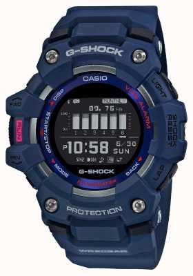 Casio G-шок | г-отряд | стептрекер | bluetooth | синий GBD-100-2ER
